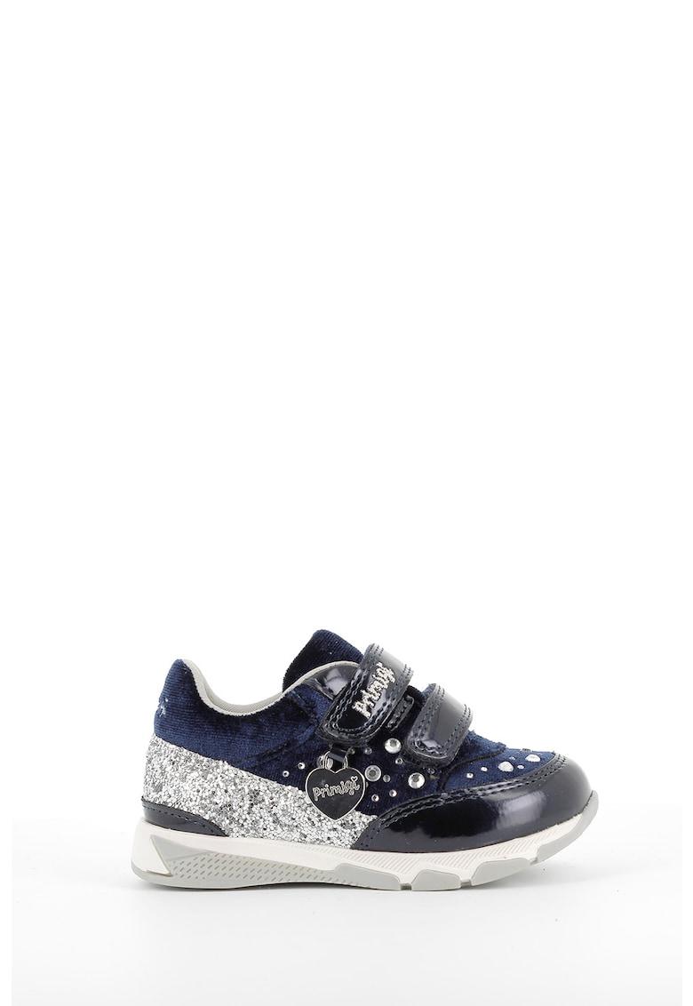 Pantofi sport de piele cu strasuri imagine promotie