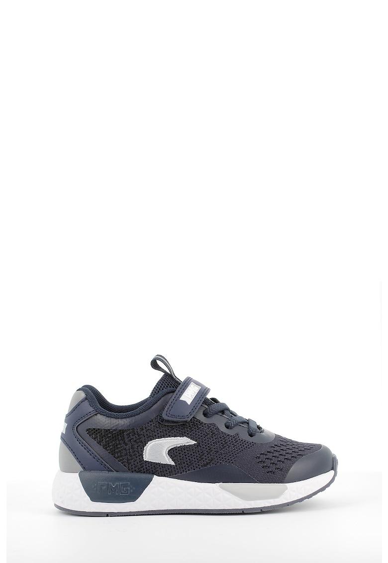 Pantofi sport de piele ecologica cu garnituri din material textil imagine promotie