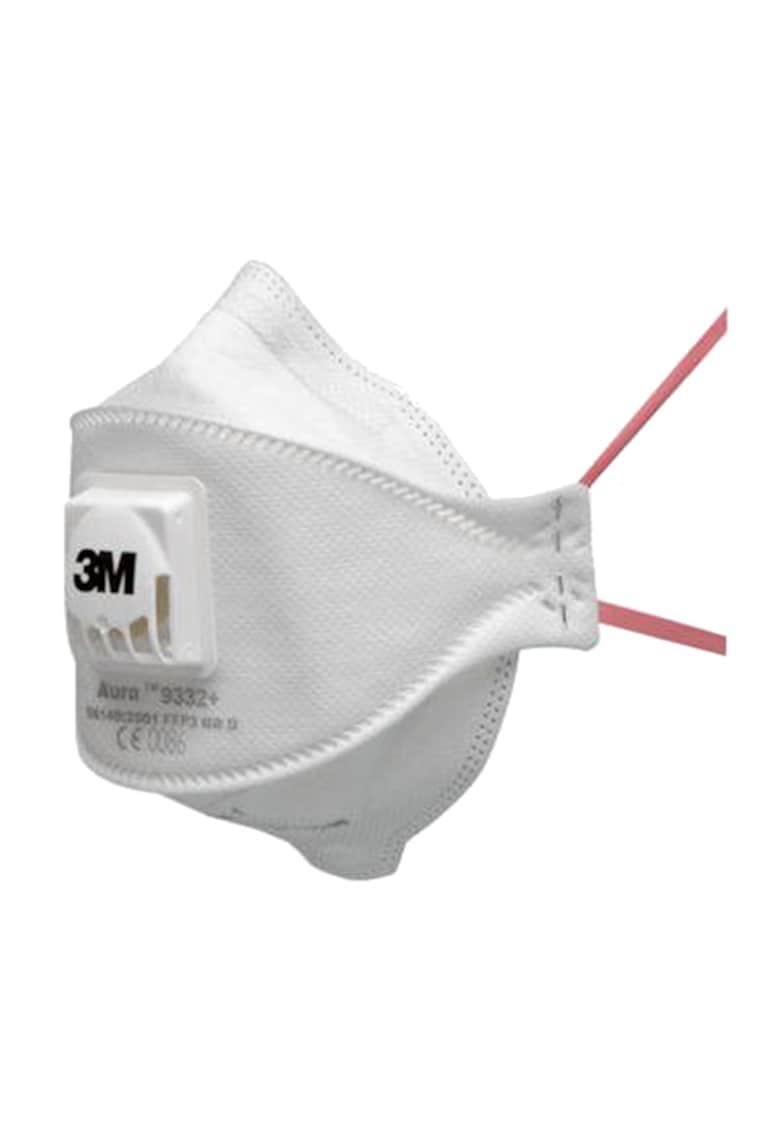 Set 10 bucati Masti de protectie respiratorie FFP3 Aura 9332+ - cu valva