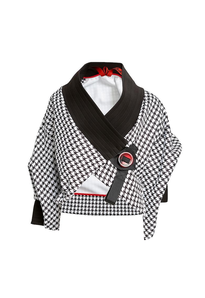 Bluza tip chimono cu maneci scurte Chanel imagine fashiondays.ro
