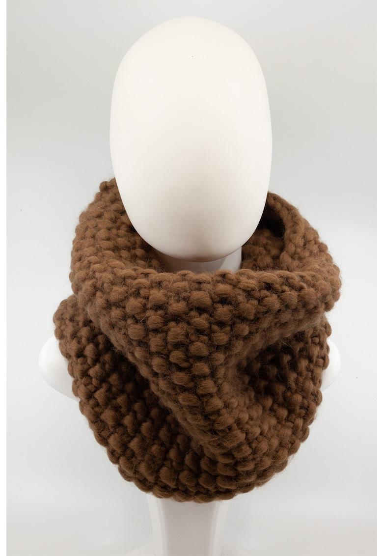 Made in Rosia Montana Fular circular unisex de lana merino