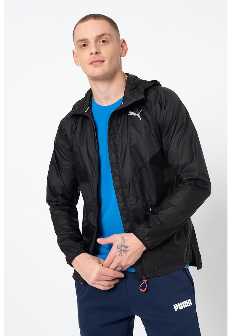 Jacheta usoara cu gluga si windCELL pentru alergare