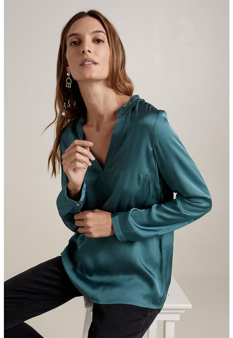 Bluza cu aspect de satin imagine