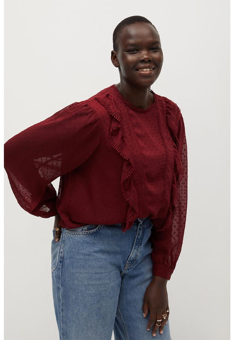 Bluza cu volane Frill imagine