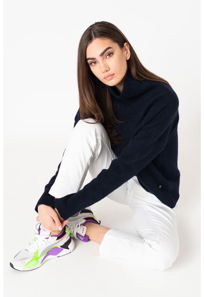 Pulover din amestec de lana cu guler inalt Camilla imagine