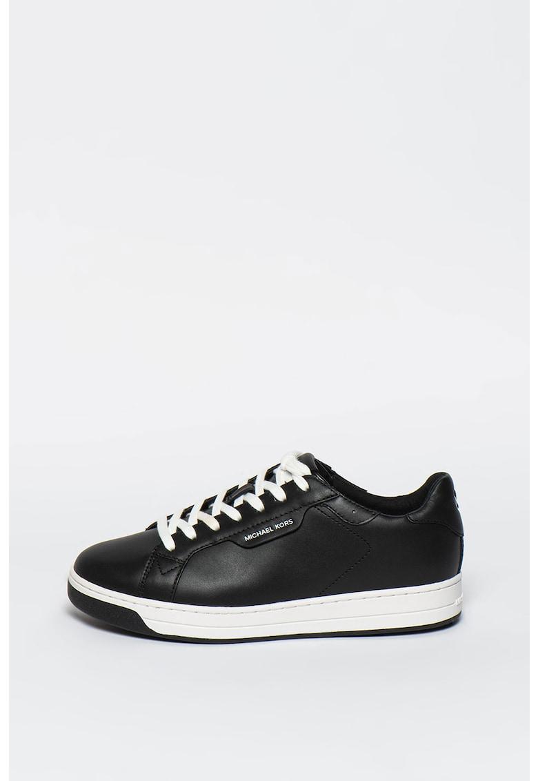 Pantofi sport de piele cu detaliu logo Keating Michael Kors fashiondays.ro