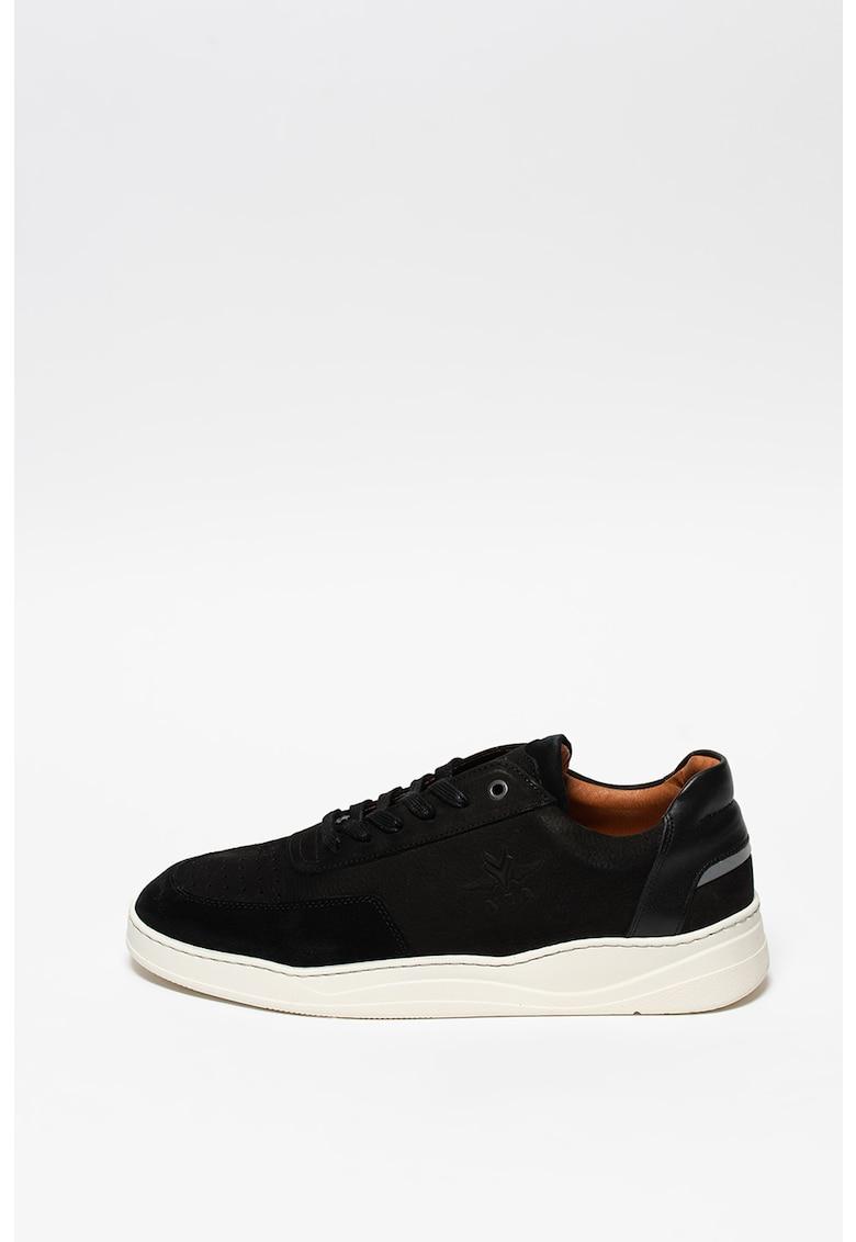 Pantofi sport cu insertii din piele intoarsa Darfield