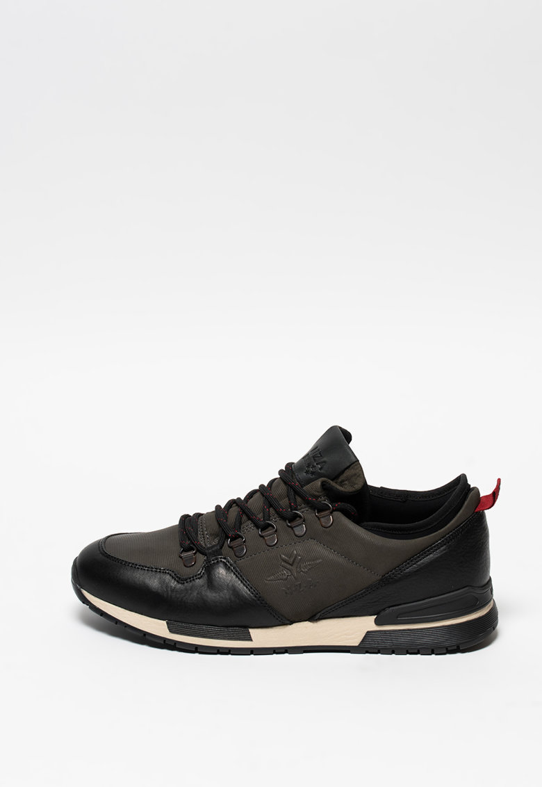 Pantofi sport din piele si piele nabuc Cheviot imagine