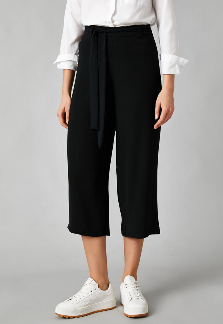 KOTON Pantaloni trei sferturi cu croiala ampla