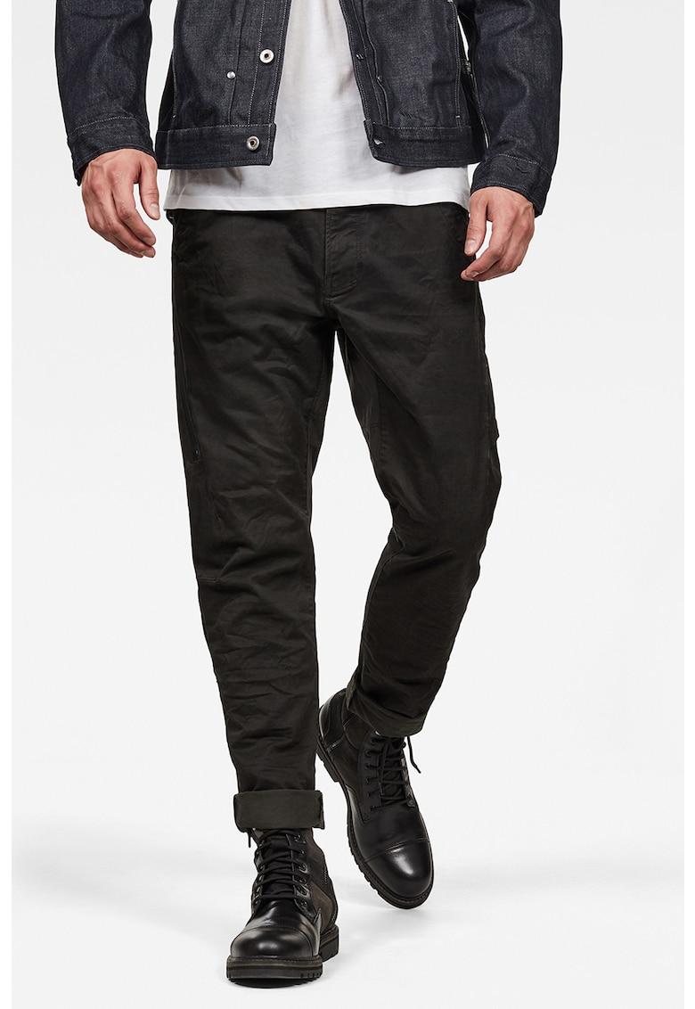 Pantaloni conici cargo slim-fit