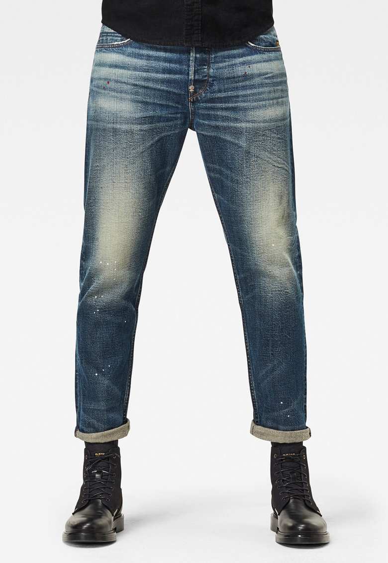 G-Star RAW Blugi conici relaxed fit cu aspect decolorat