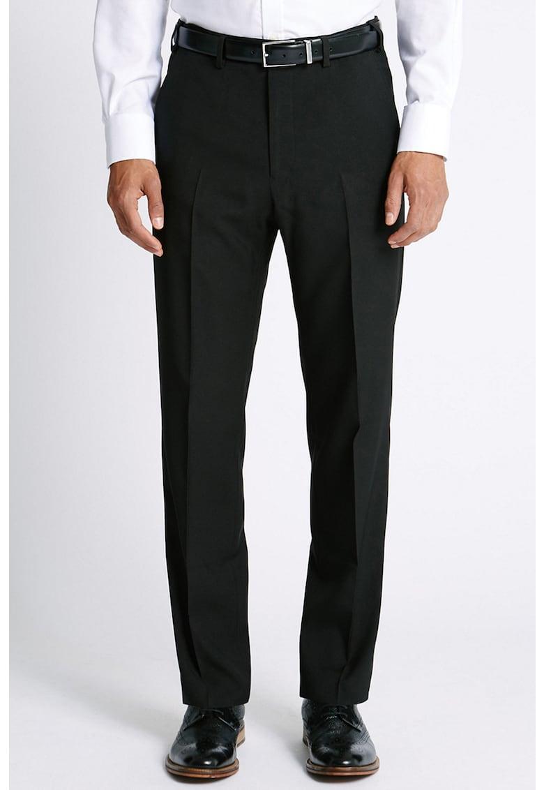 Pantaloni eleganti regular fit imagine promotie