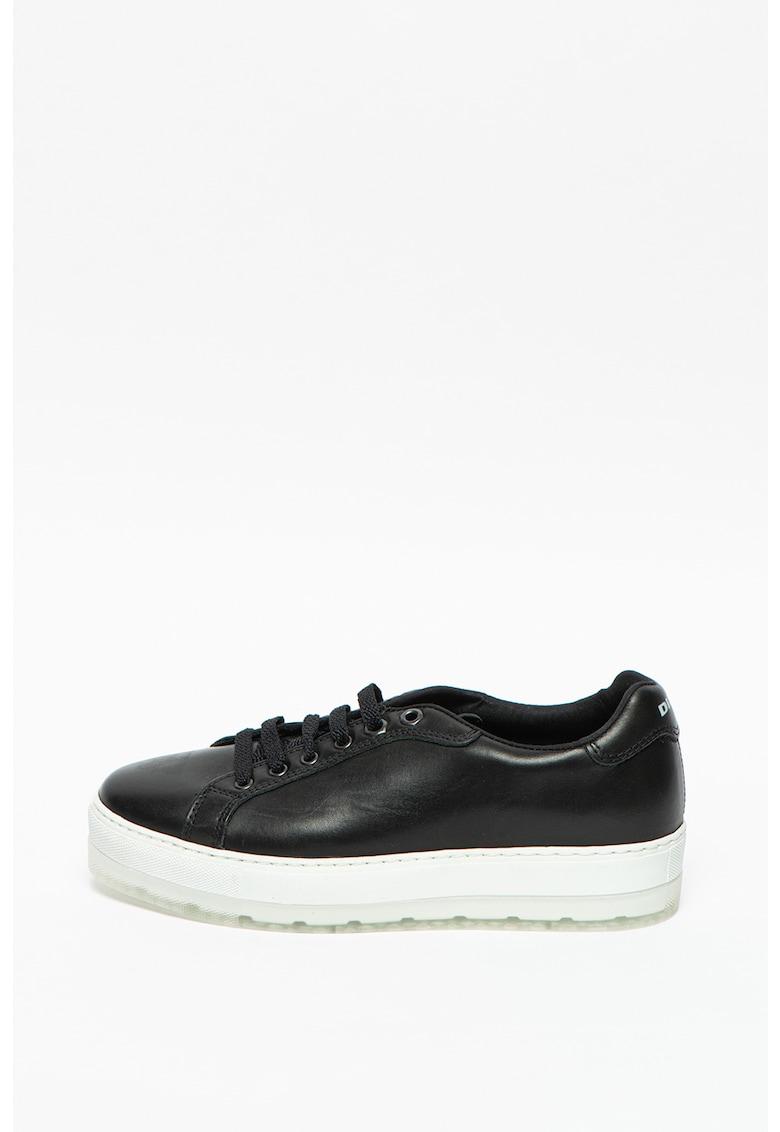 Pantofi sport flatform de piele S-Andyes