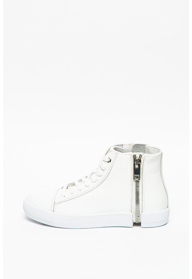 Pantofi sport high-top cu insertii de piele S-Nentish