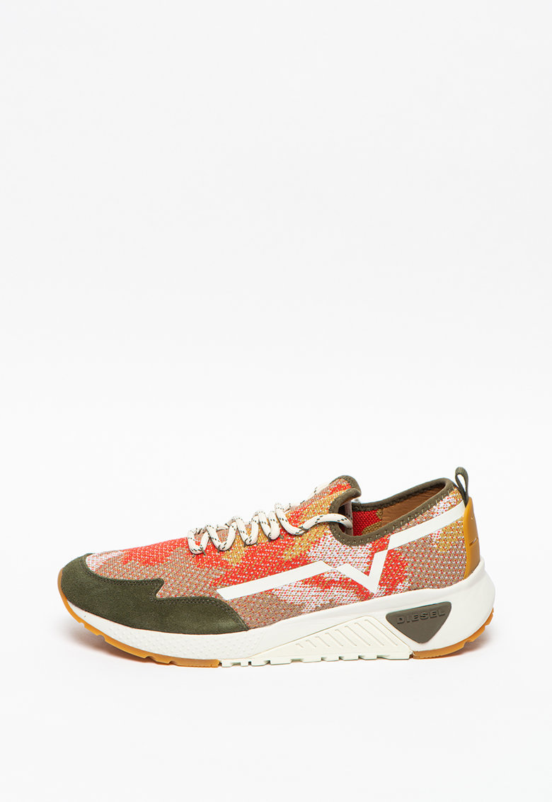 Pantofi sport de plasa cu model colorblock S-Kby Diesel fashiondays.ro