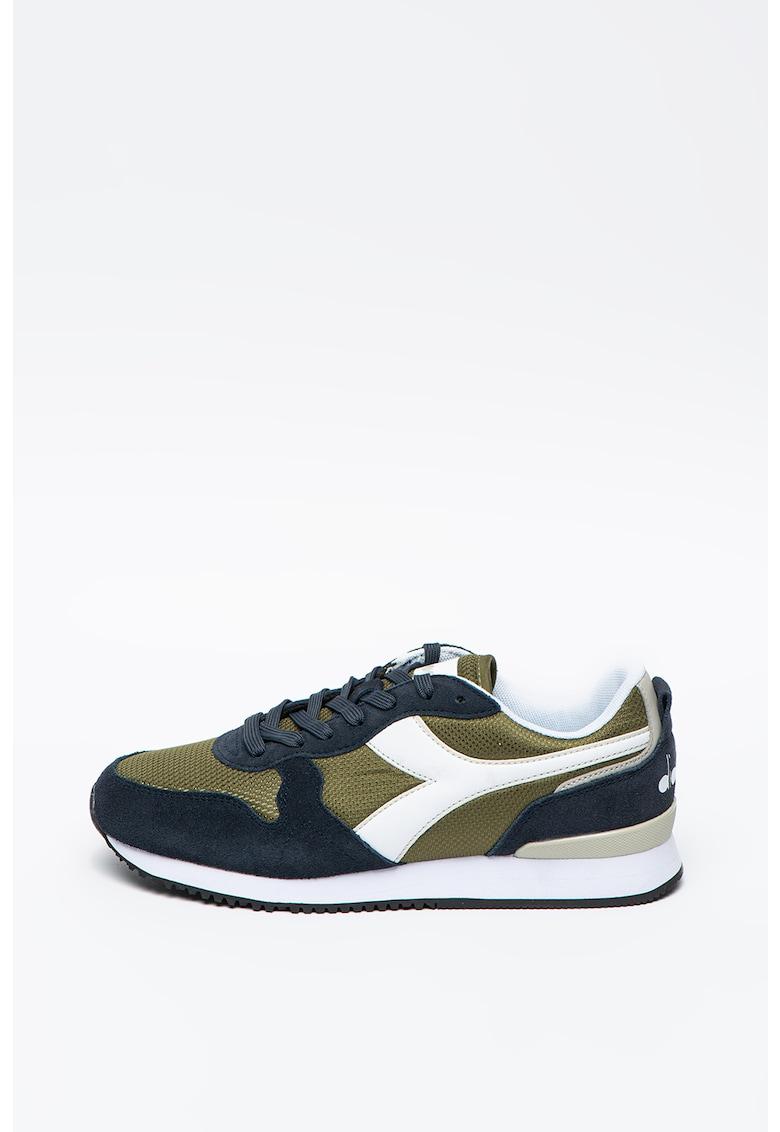 Pantofi sport cu detalii de piele intoarsa Olympia