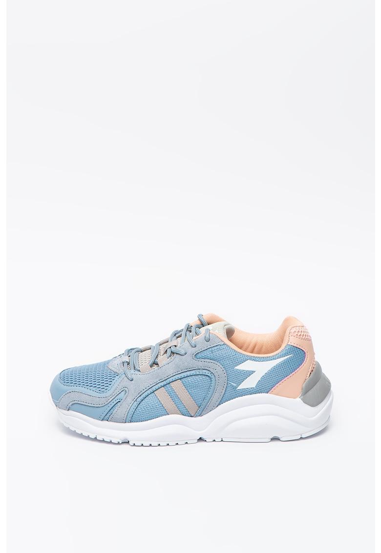 Pantofi sport cu garnituri din piele intoarsa Whizz 370