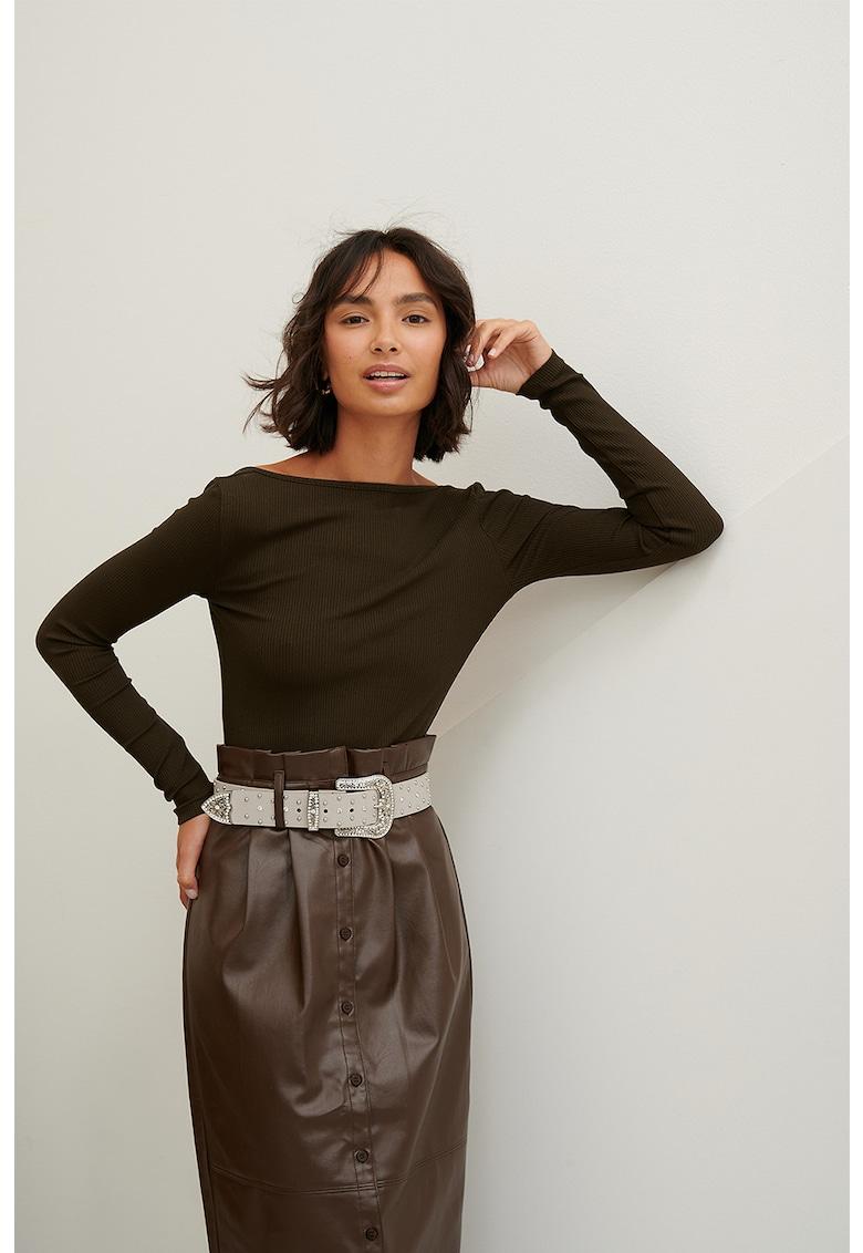 Bluza tip body cu spate decupat imagine
