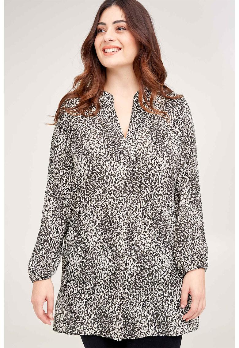 Bluza tip tunica cu imprimeu imagine promotie