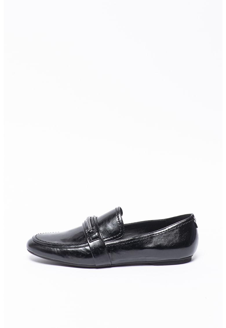 Pantofi loafer de piele ecologica Oracy poza fashiondays