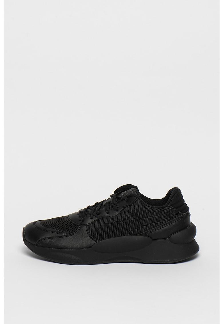 Pantofi sport unisex cu insertii de piele ecologica RS 9.8 Core