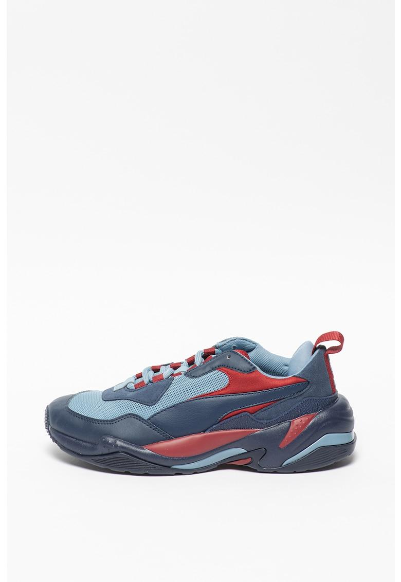 Pantofi sport unisex cu model colorblock si aspect masiv Thunder Fashion