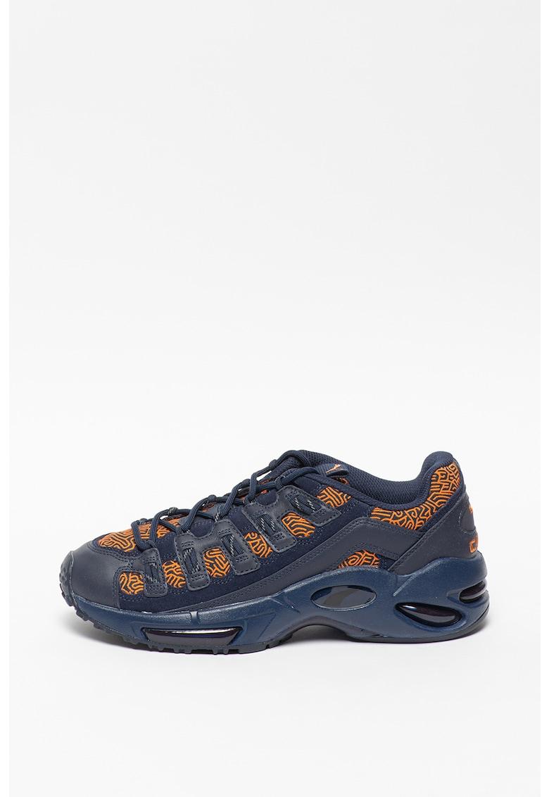Pantofi sport de piele ecologica cu insertii de plasa Cell Endura