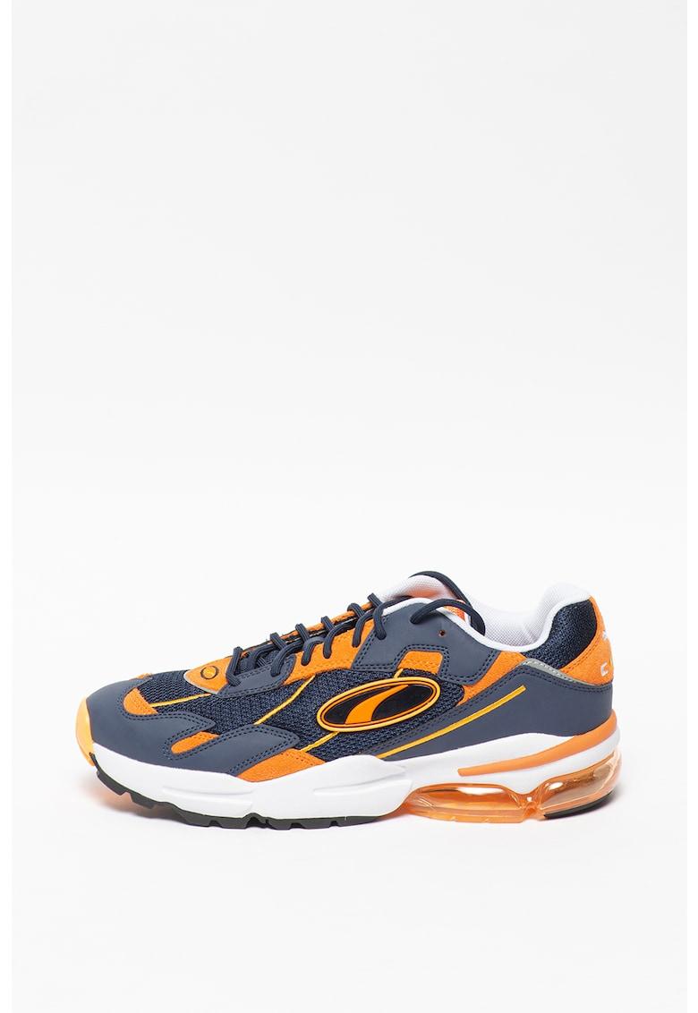 Pantofi sport cu insertii de piele Cell Ultra Go