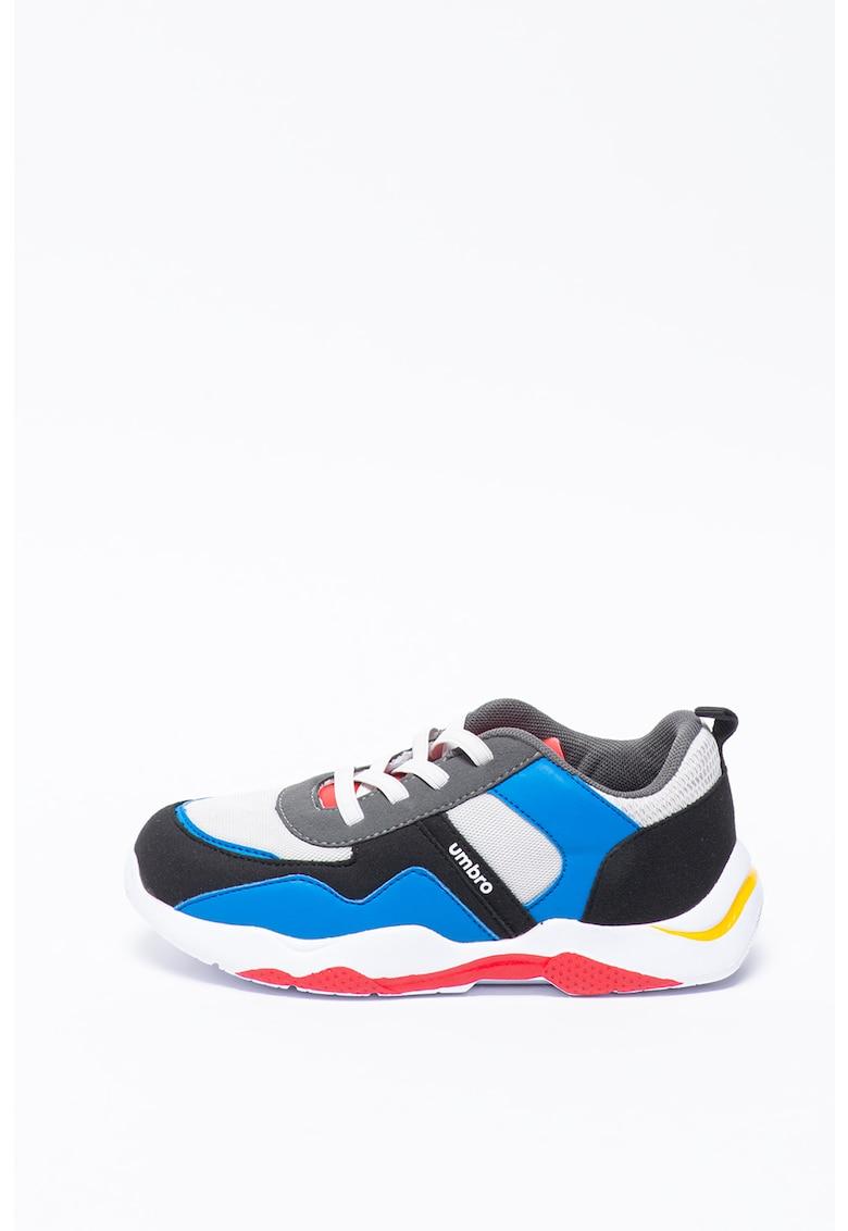Pantofi sport cu insertii de piele ecologica Turan poza fashiondays