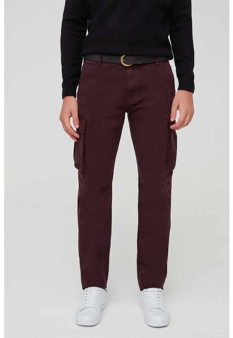 Pantaloni cargo elastici imagine