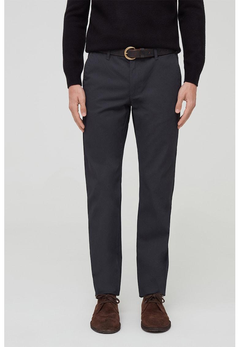 Pantaloni chino de bumbac imagine fashiondays.ro