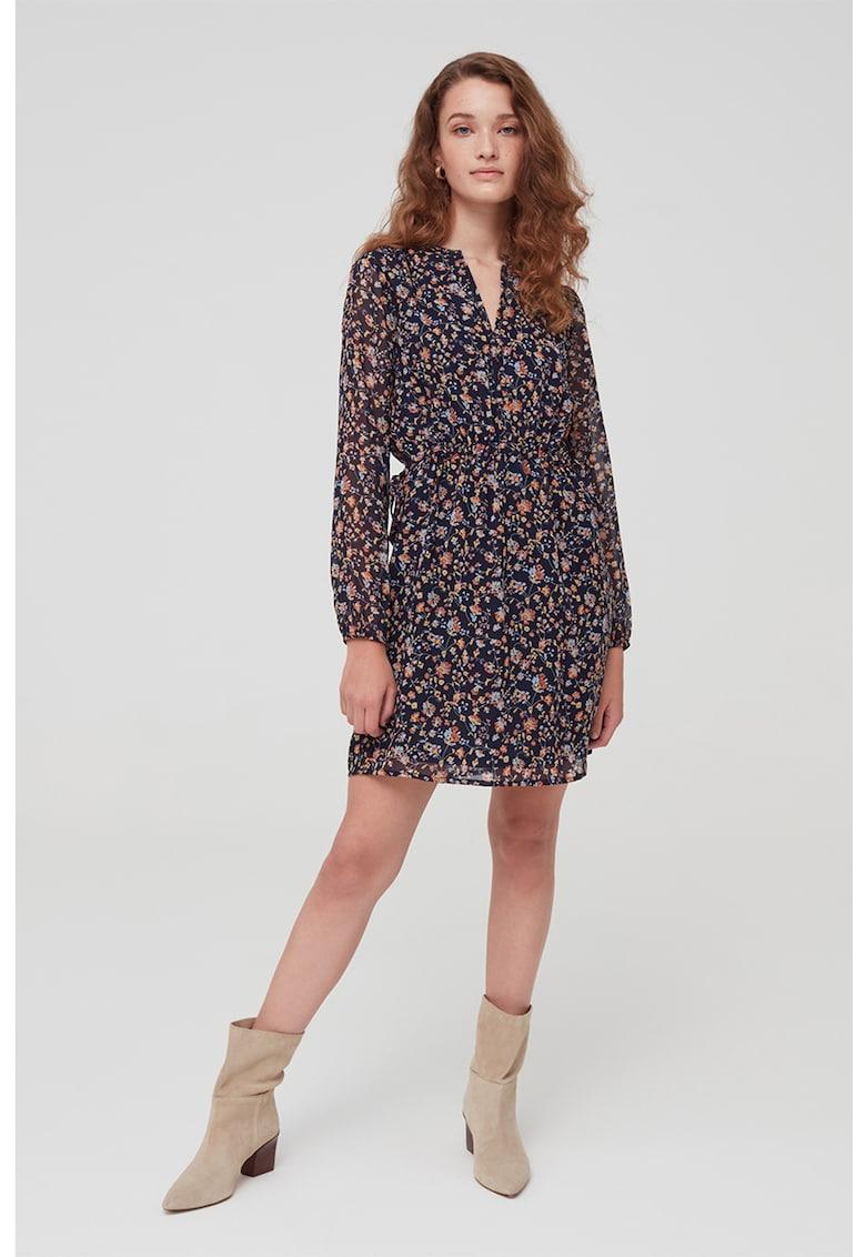Rochie mini cu model floral