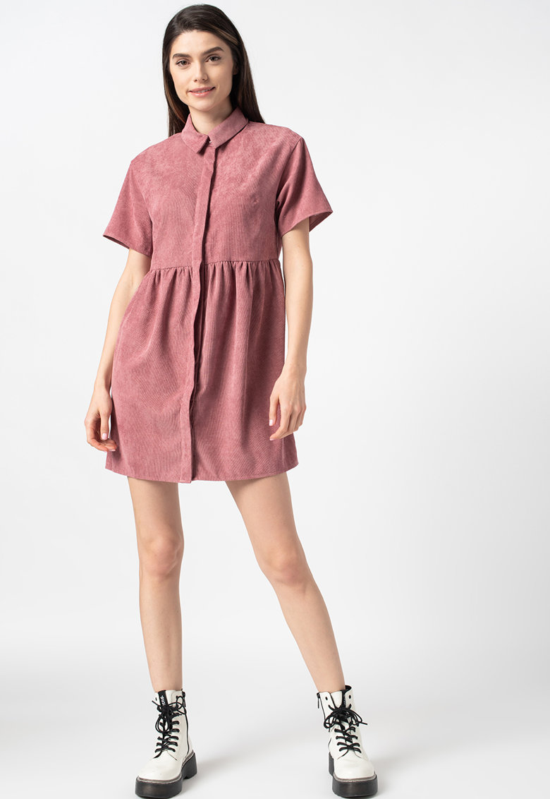 Rochie mini tip camasa de reiat Missguided