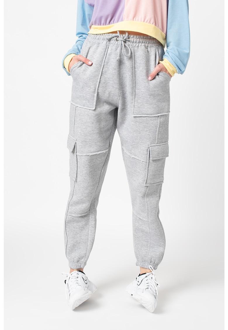 Pantaloni sport cu snur in talie imagine fashiondays.ro