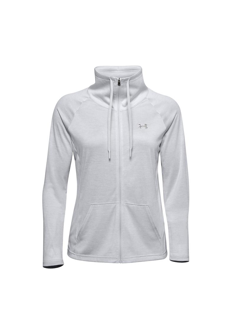 Bluza cu fermoar - pentru fitness Tech Twist