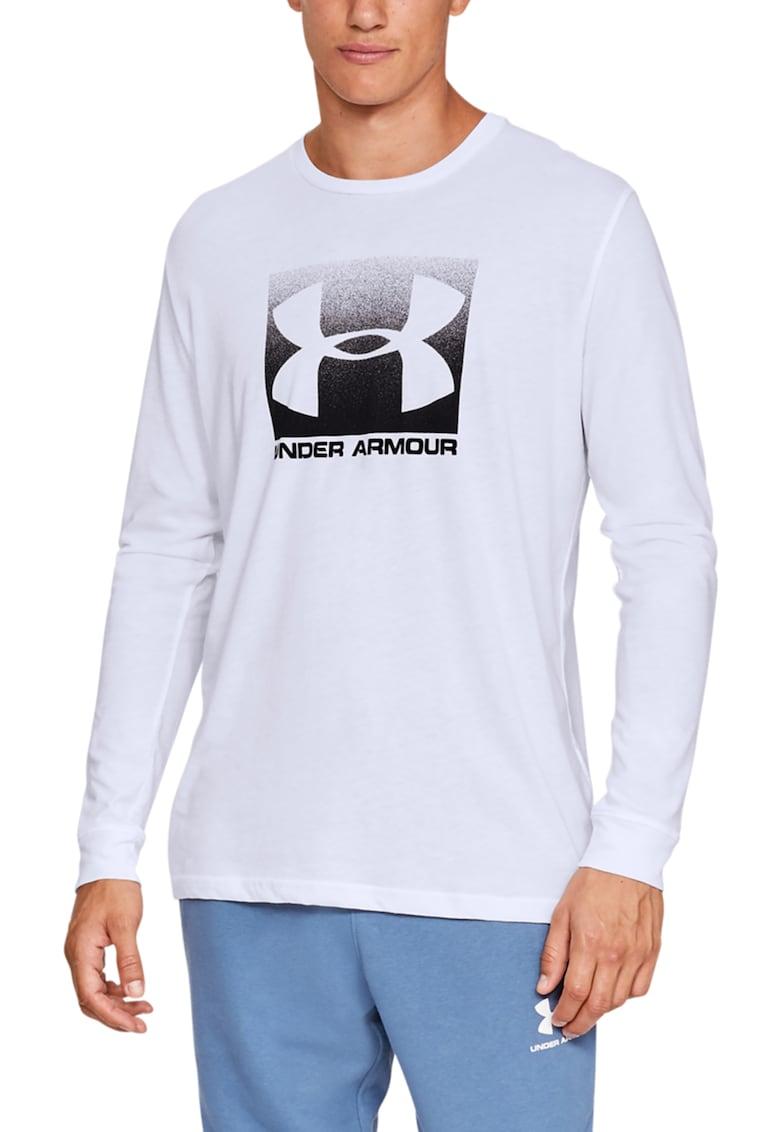 Bluza cu imprimeu logo - pentru antrenament Boxed