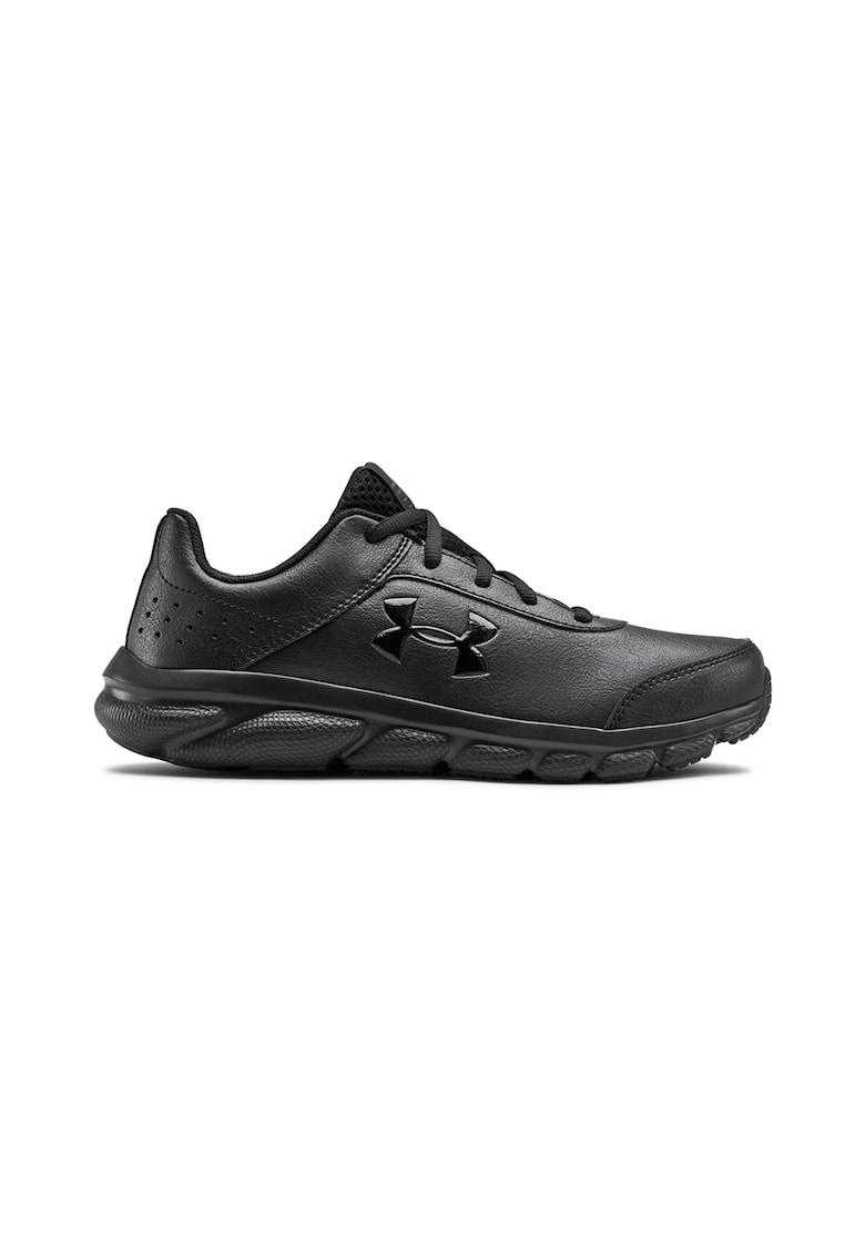 Pantofi de piele ecologica cu velcro pentru alergare Assert 8 fashiondays.ro