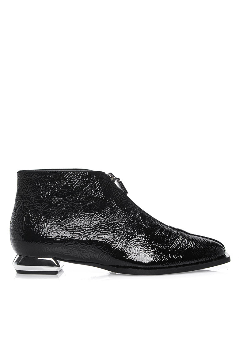 Pantofi din piele nabuc Lamonica I