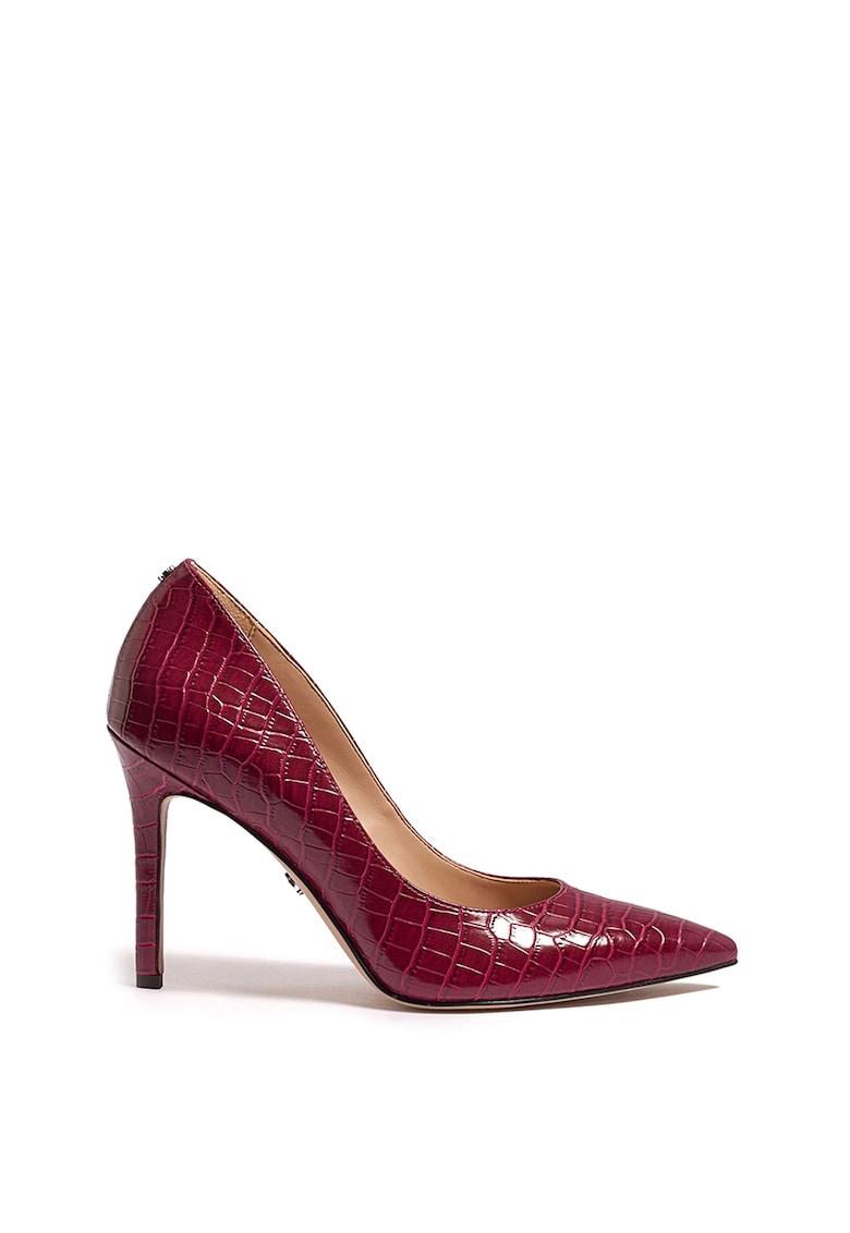 Pantofi din piele ecologica cu varf ascutit Hazel