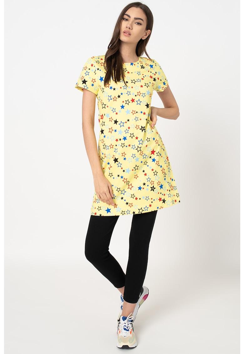Rochie cu imprimeu cu stele