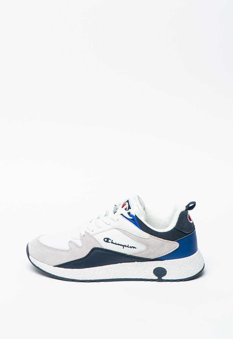 Pantofi sport cu garnituri de piele intoarsa Austin imagine promotie