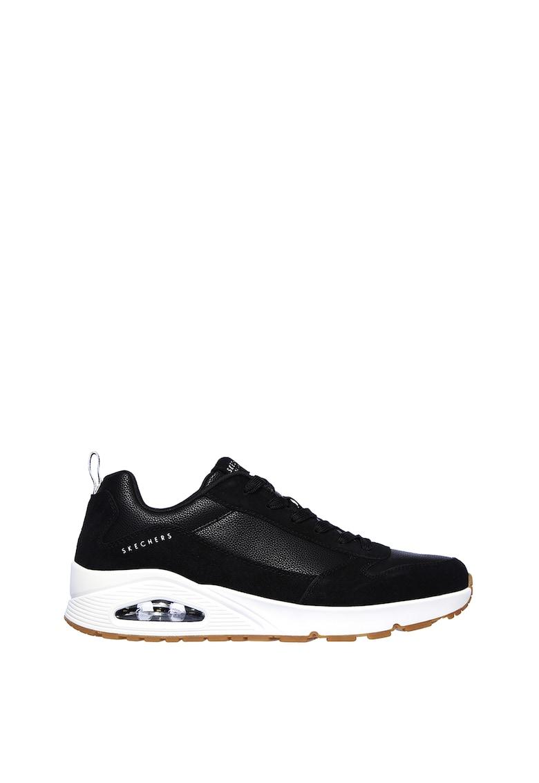 Pantofi sport cu insertii de piele STACRE imagine
