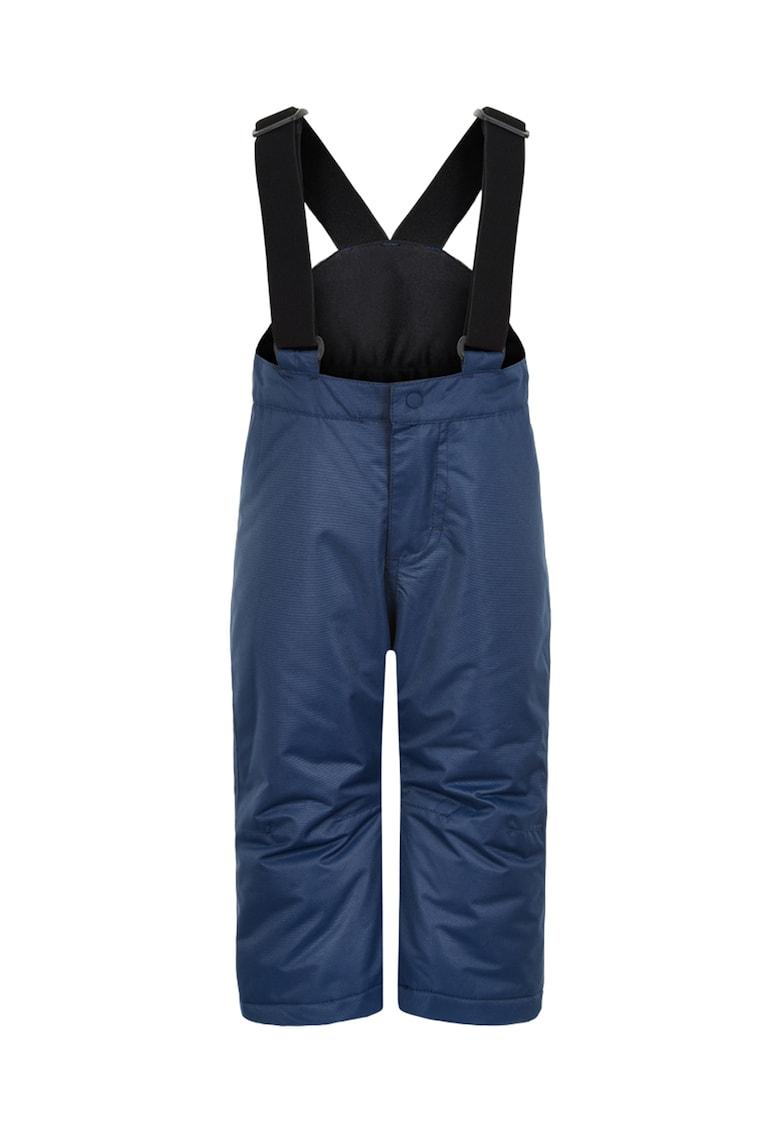 Pantaloni impermeabili pentru ski cu bretele si parazapezi imagine