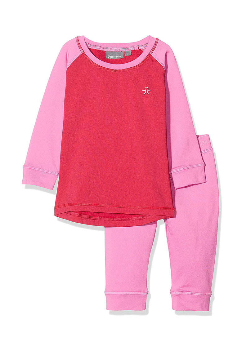 Set de bluza termica si colanti pentru ski Color Kids fashiondays.ro