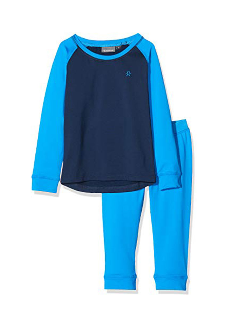 Set de bluza termica si colanti pentru ski