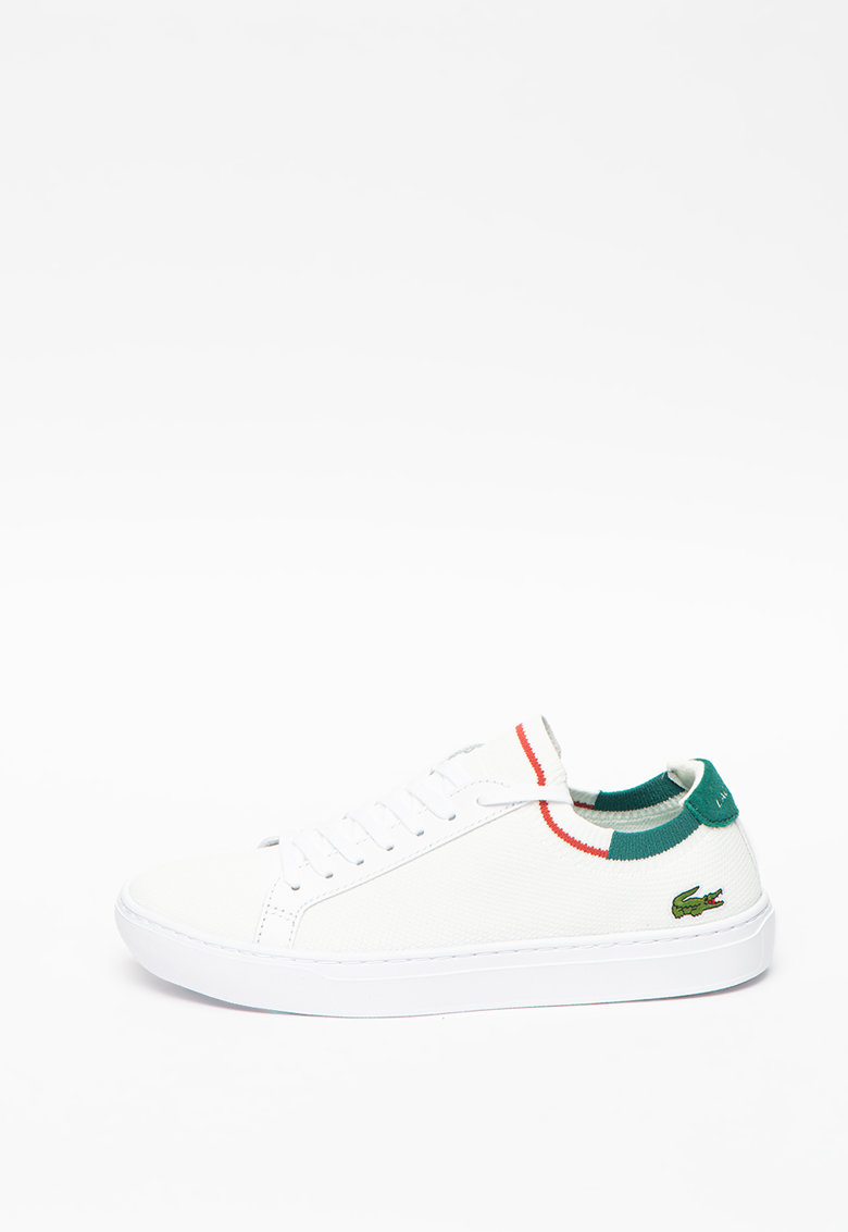 Pantofi sport de material textil cu logo La Piquee