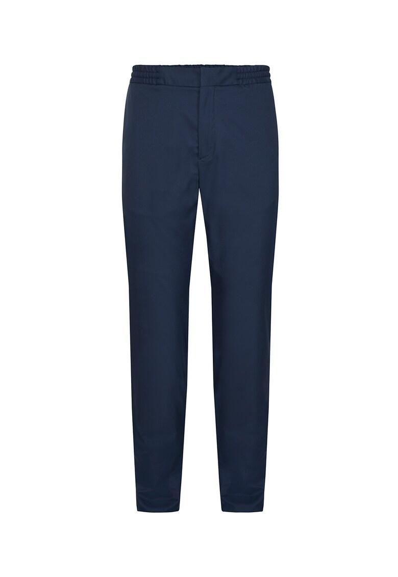 Pantaloni slim fit cu talie elastica
