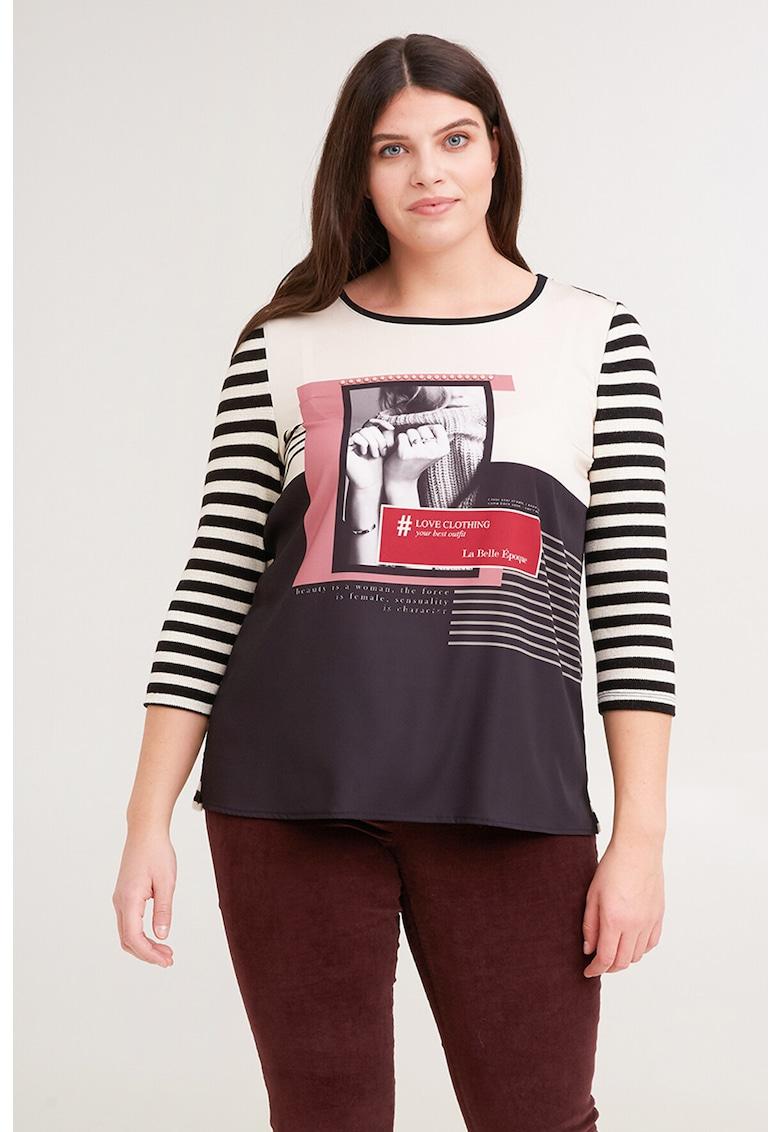 Bluza cu maneci trei sferturi imagine promotie