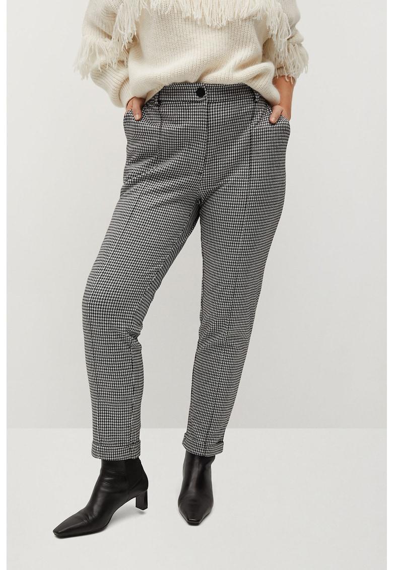 Pantaloni cu model houndstooth Trip imagine