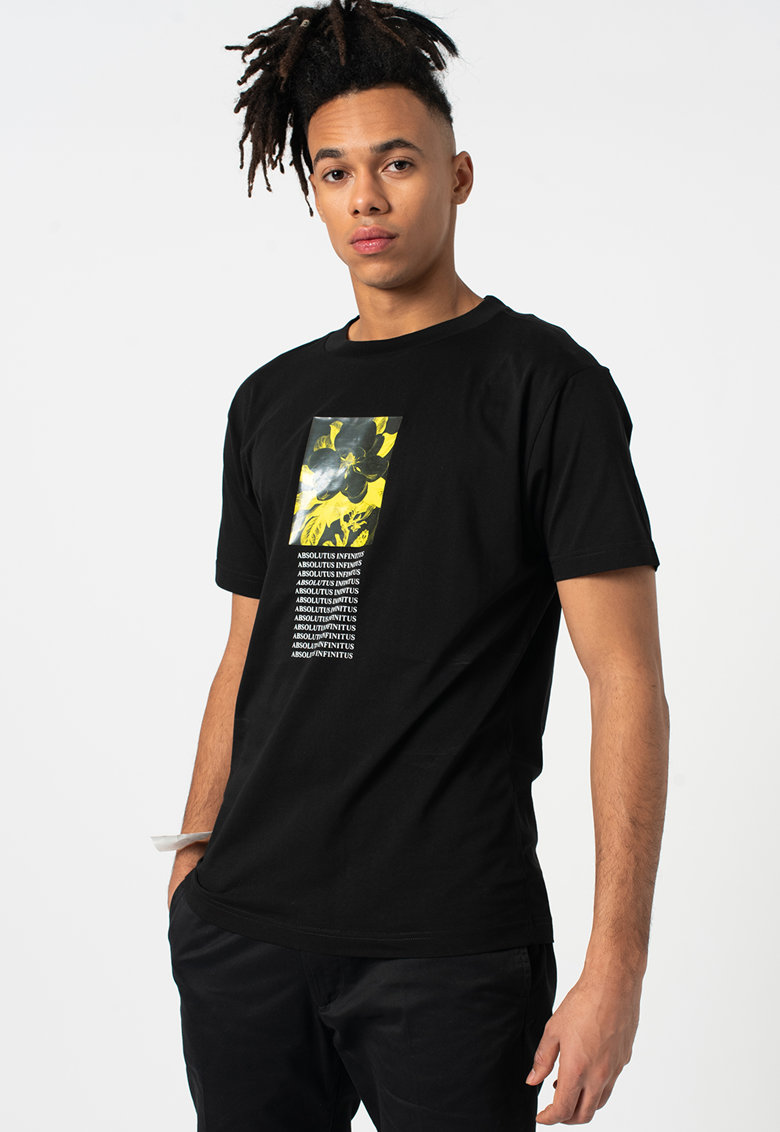 Tricou cu imprimeu grafic Wallace
